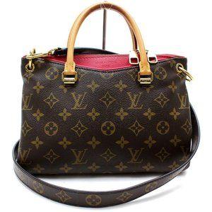 Auth Louis Vuitton Pallas Bb Hand Bag #N8326V71